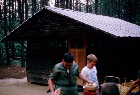 A typical Camp Uwharrie cabin.