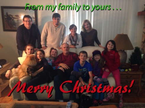 From all of us to all of you.